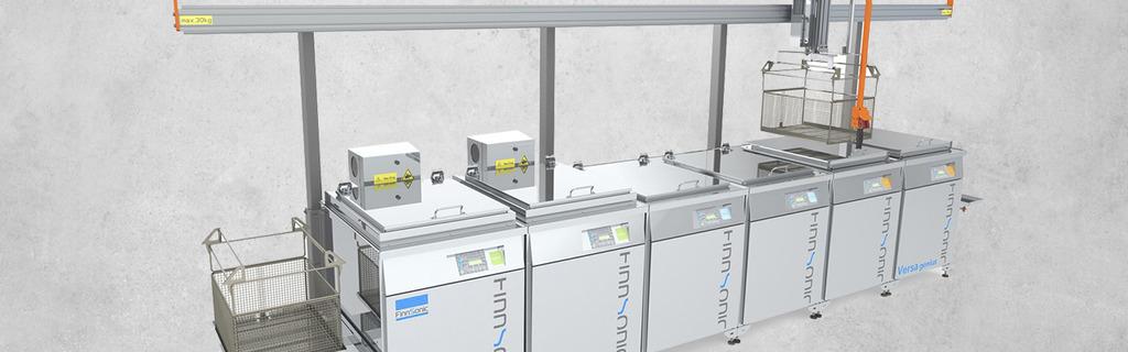 FinnSonic Tauch-Ultraschallreinigungsanlage